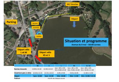 Triathlon 321 – Exposé de course